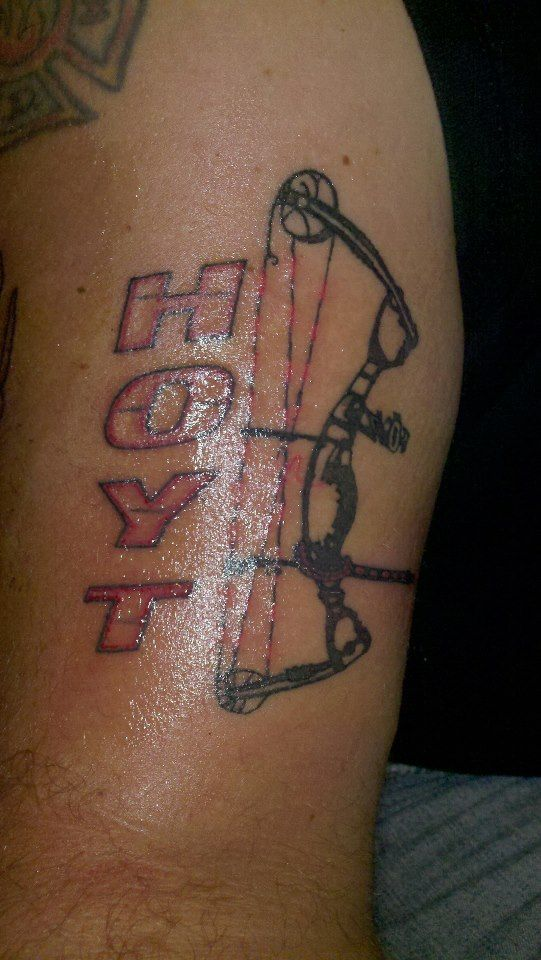 Hoyt archery tattoos pictures to pin on pinterest tattooskid for Archery tattoo pictures