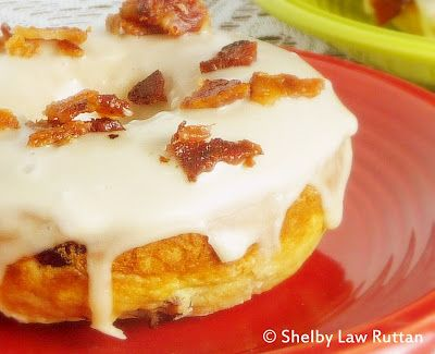 Blood Orange Cranberry Baked Doughnuts with Bacon Maple Glaze @The Life and Loves of Grumpy's HoneybunchGrumpy Honeybunch, Cranberries Baking, Baked Doughnuts, Maple Glaze, Bacon Maple, Baking Doughnuts, Blood Orange, Orange Cranberries, Pancakes Mixed