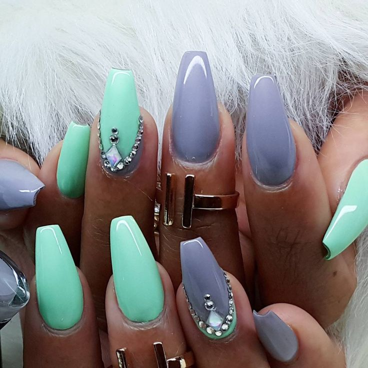"""Color used """"Call of the Wild"""" & """"Dusty Pastel Green"""" From @madam_glam"""