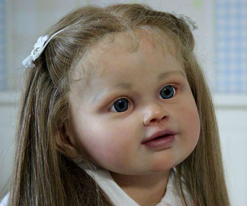 Perla By Jannie De Lange Reborn Toddler Size 3 4 Years Old