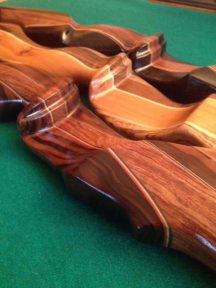Particolari di archi ricurvi da caccia Paganini #handcrafted #paganiniarchery