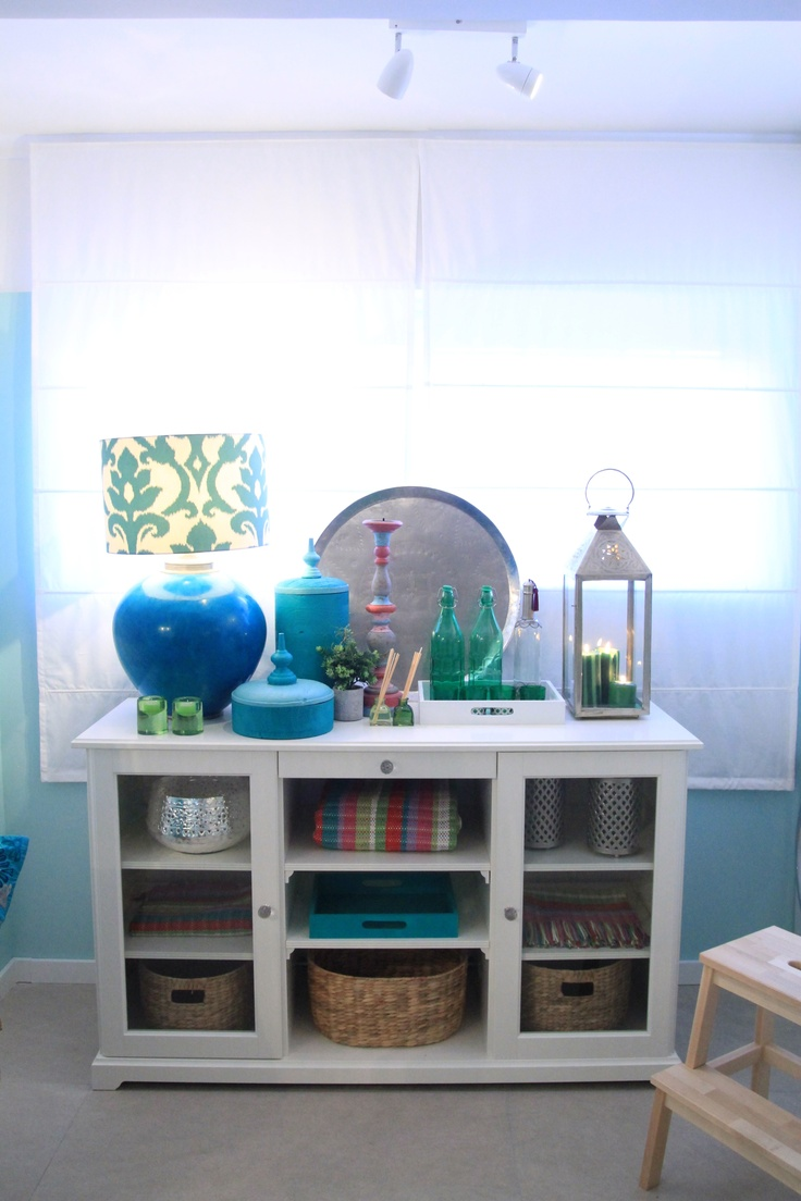 Morocan Inspired Kitchen - Project by Ana Antunes for House Makeover Show - Turquoise, green, morrocan inspired pieces, lanterns