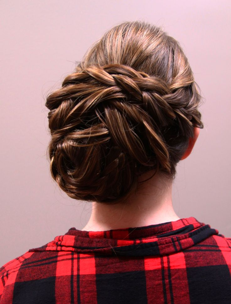 Up-style for prom 2014 at Fortelli Salon & Spa Mississauga