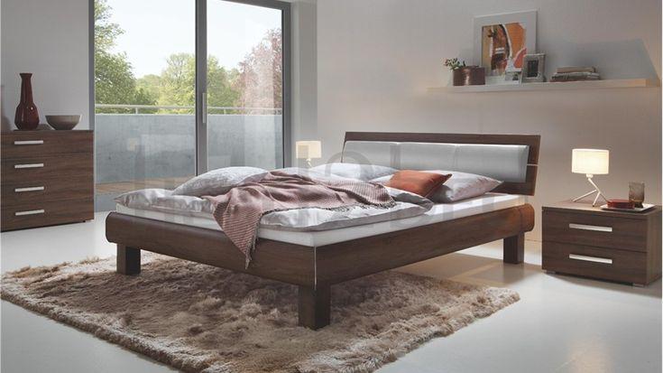 Hasena Ivio Nuetta Lumo - Real Leather Modern Bed
