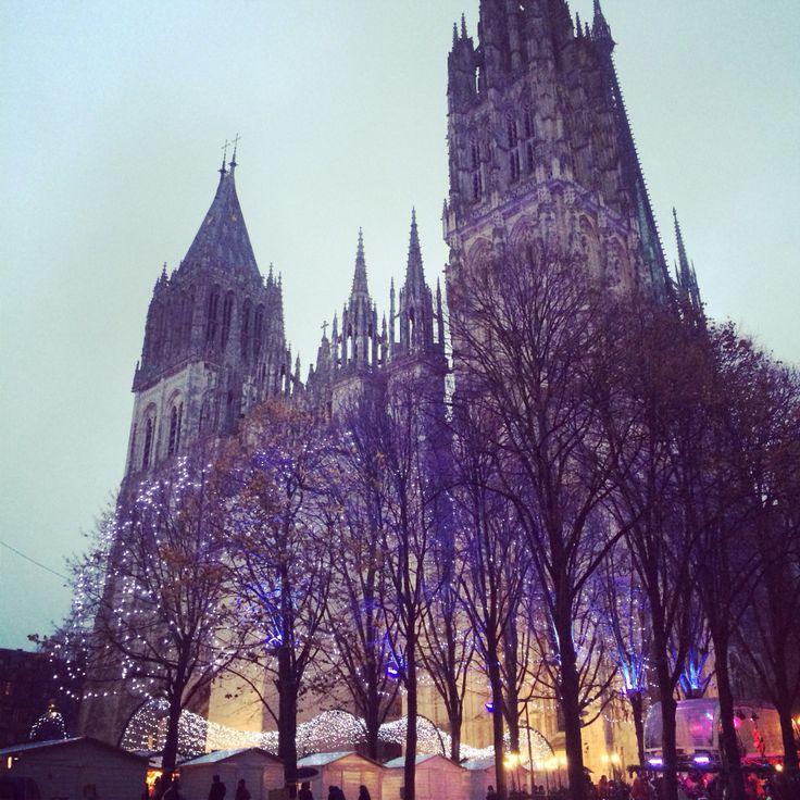 Marché de Noël - Cathédrale  Rouen