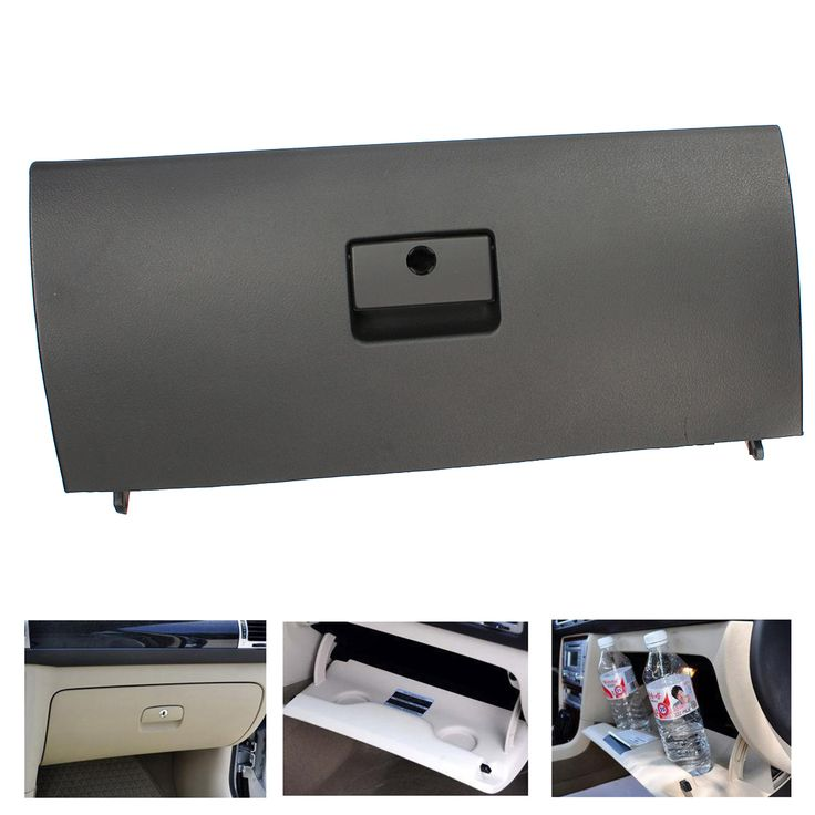 check discount door lid black new glove box cover for vw golf jetta a4 mk4 #golf #gloves