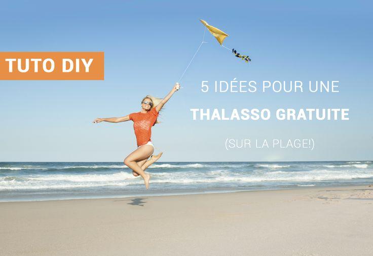 Ma thalasso gratuite sur la plage ! #vacances #mer #thalasso