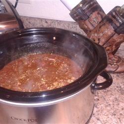 Cara's Texas NO-BEAN Crock Pot CHILI Allrecipes.com