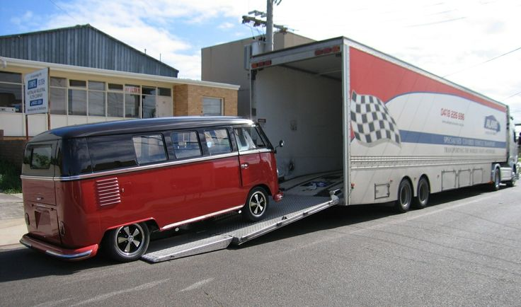 Coming home after spending approximately 3 months in Melbourne having his interior done by Bus 'n' Bug. We wanted him to travel in comfort inside a truck for the journey down and back