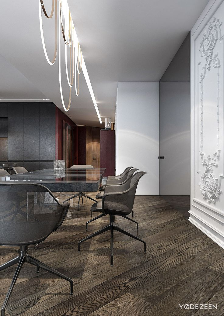 Modern apartment with classical features on behance