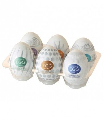 Hard Boiled Masturbator Eggs - Tenga. For a unique male masturbating experience try one of these super-stretchable textured Eggs. R979.00