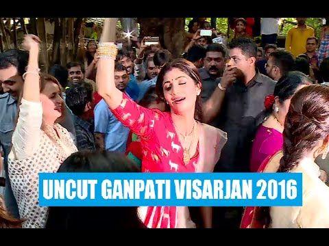 Shilpa Shetty MADLY DANCES at Ganpati Visarjan 2016 - UNCUT VIDEO