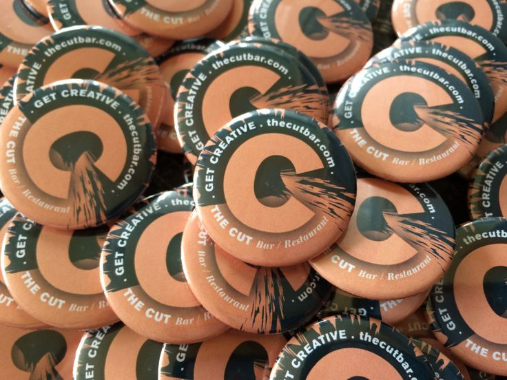 Button Pin Badges are great promotional merchandise for your business, organisation or charity.