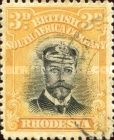 British South Africa Company, 1.9.1913, King George V., No.129, 3P yellow/black. Stamped 1,65 USD. Unused 8,78 USD.