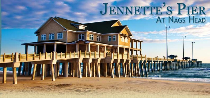 Jennette 39 s fishing pier outer banks nc pinterest for Jennette s fishing pier