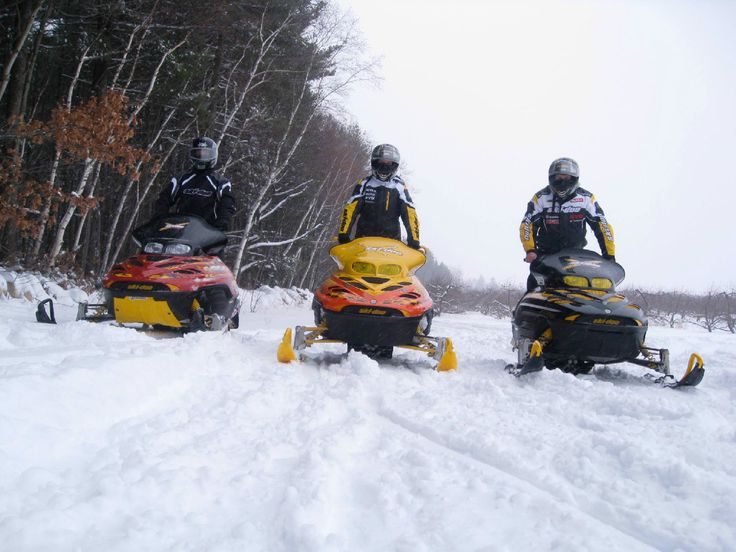 Snowmobile Tours In Southern Nh