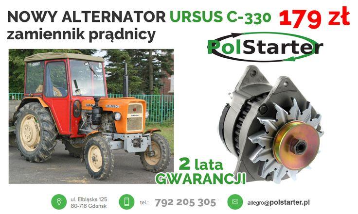 ⚫ Alternator do URSUSA C-330 w promocyjnej cenie tylko u nas❗ 🚗🚕🚙🚌🏎🚓🚑🚒🚐🚚🚜🚖🚘🚍🚔 ⚫ Zapraszamy do kontaktu! 📲 792 205 305 ✉ allegro@polstarter.pl #alternator #ursusC330 #maszynyrolnicze