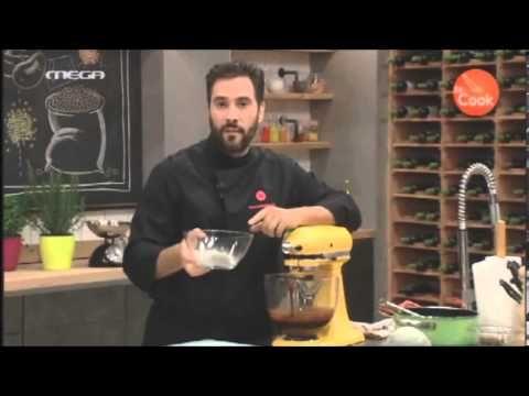 DR. COOK:Επ.15 - Σουφλέ με 2 είδη σοκολάτας και παγωτό καραμέλα - YouTube