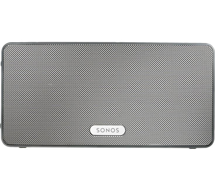 SONOS  PLAY:3 Wireless Smart Sound Multi-Room Speaker - White, White Price: £ 219.00 Have an entire music library at your disposal with the tasteful, flexible Sonos PLAY:3 Wireless Smart Sound Multi-Room Speaker . The award-winning Sonos wireless multi-room system is easy to set up and use; start with one speaker and add more over time. With the free Sonos app on your phone or tablet, you can...