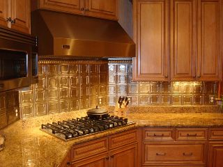 copper backsplash kitchen ideas tin ceilings by the tinman chelsea decorative metal 5784