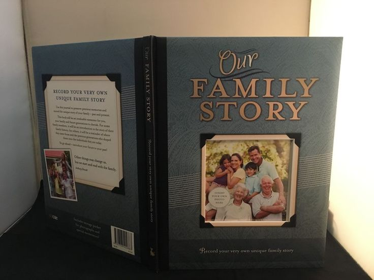 Our Family Story – by ALICAT , Hardcover Family Record / Photo Book in Books, Magazines, Accessories, Gift Books, Diaries, Journals | eBay!
