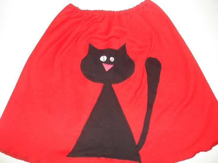 χειροποίητη φούστα γάτα