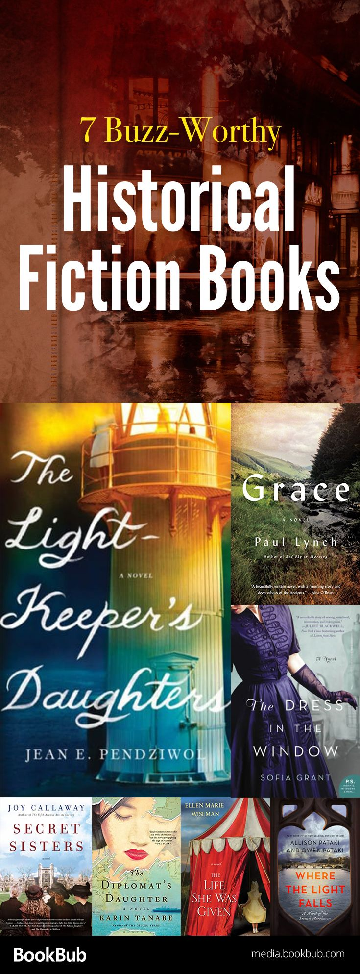 If you love history novels and historical fiction, check out these great books including WWII fiction and more.