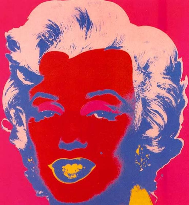 Marilyn Red by Andy Warhol