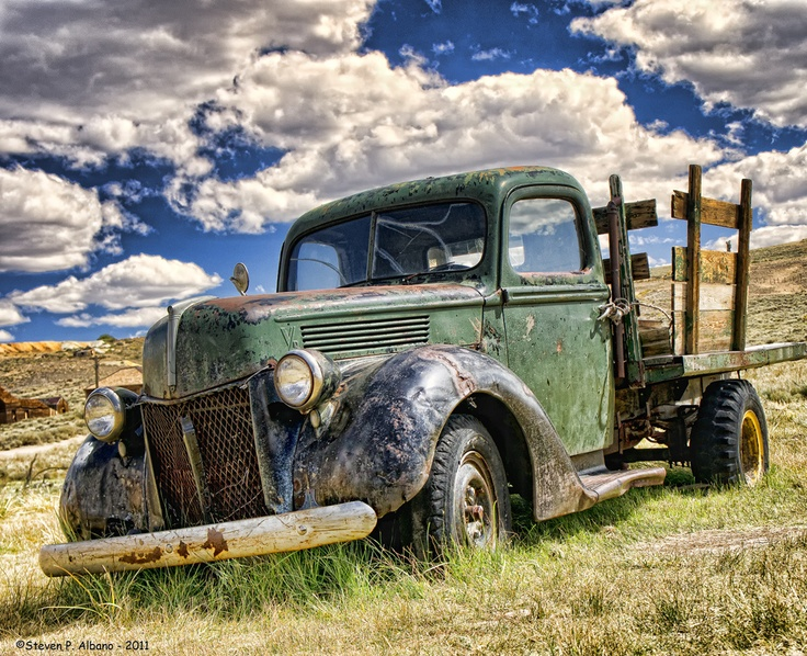 Rusty Wallace Ford >> An old truck at Bodie - The Ghost Town | When High Dynamic Range Works! | Pinterest | Ghost ...