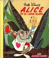 Walt Disney (Les Albums roses)  -5202- Alice et le lapin blanc 1952