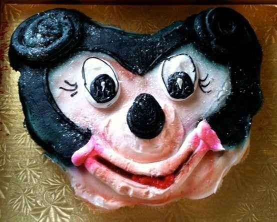 """Here's Mickey Mouse as seen in the """"after"""" photo in an anti-meth PSA."""