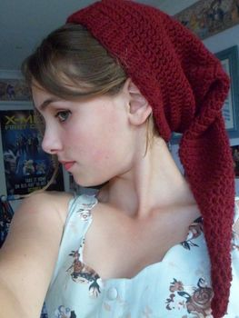 If you feel like being weird..or an elf (like me!) feel free to try this pattern :) .  Free tutorial with pictures on how to make a beanie in under 119 minutes by crocheting with yarn, crochet hook, and yarn needle. Inspired by christmas, legend of zelda, and clothes & accessories. How To posted by Sparkles. Difficulty: Simple. Cost: Absolutley free. Steps: 3