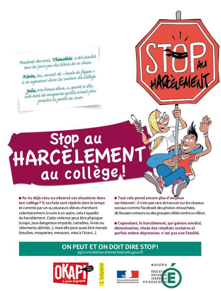 29 best images about stop au harcelement on pinterest livres peeps and atelier. Black Bedroom Furniture Sets. Home Design Ideas