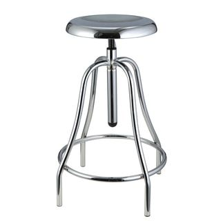 Beautiful Burton Metal Fully Assembled Adjustable Stool