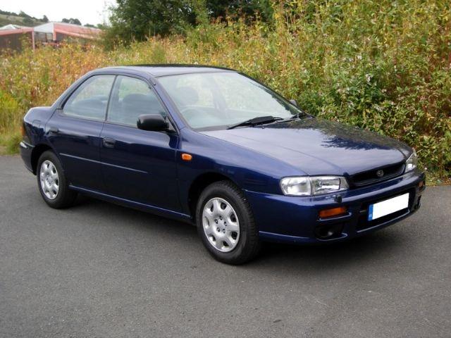 Subaru Coupe 16 GL 4WD Turbo
