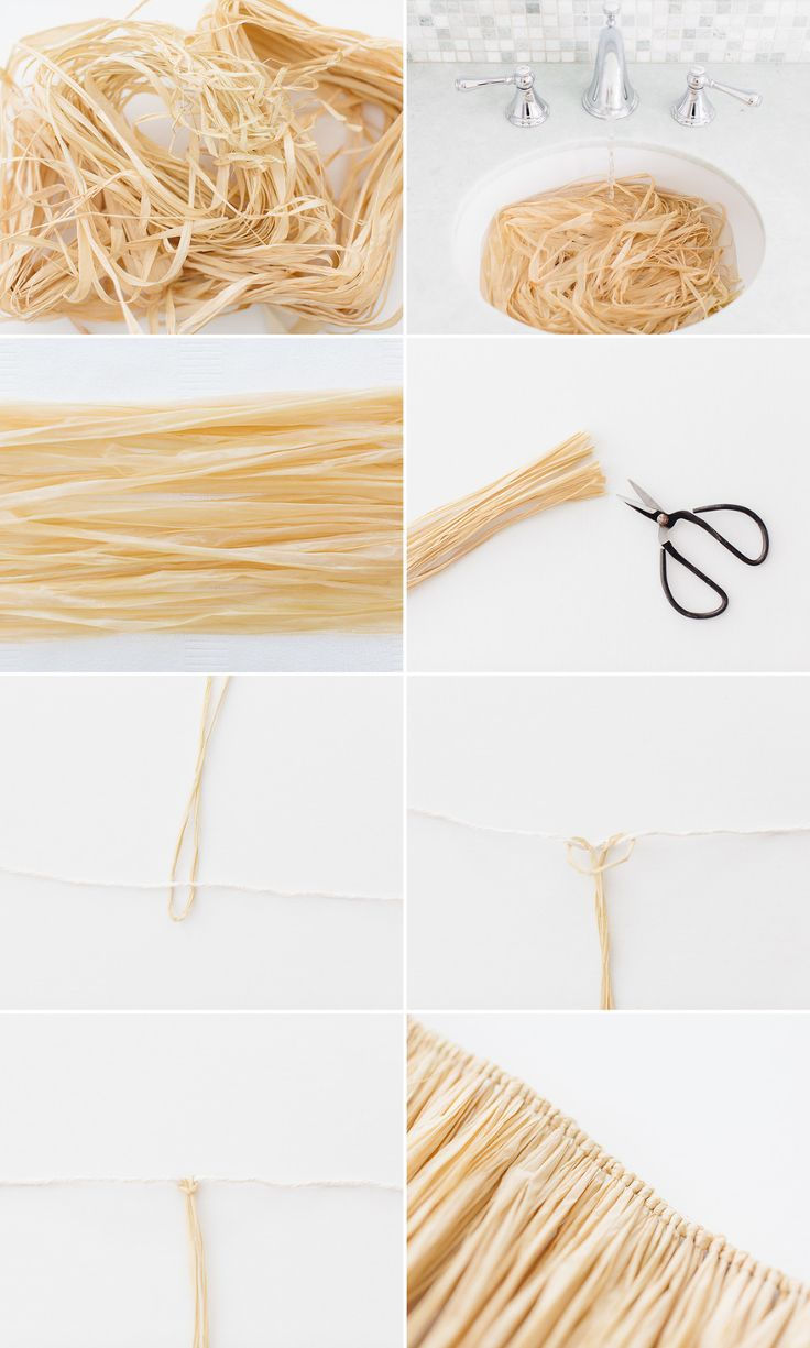 Easy DIY Hula Skirt