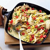 Chicken Succotash | http://www.rachaelraymag.com/Recipes/rachael-ray-magazine-recipe-search/dinner-recipes/chicken-succotash?esrc=nwdr071212pinc