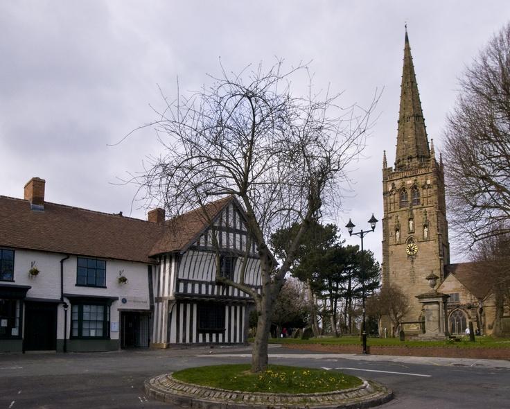 St Nicolas and Saracens Head, Kings Norton, Birmingham, England #england #birmingham