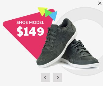 product html5 ad banner templates, shoe html5 ad banners, product gallery html5 ad banners, swipable gallery ad banners, html5 swipable gallery ad banners