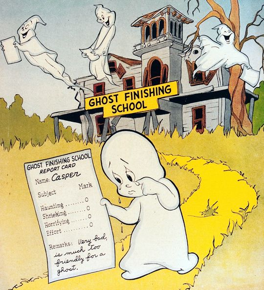 gravesandghouls:  Casper the Friendly Ghost #1 (1949)