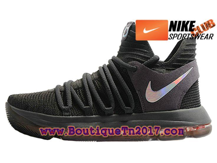 Nike Zoom KD 10 Chaussures Nike Basket Pas Cher Pour Homme Noir
