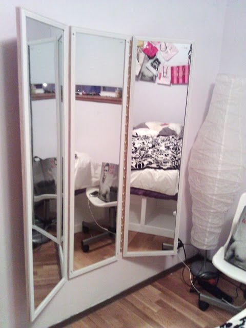 DIY three way mirror