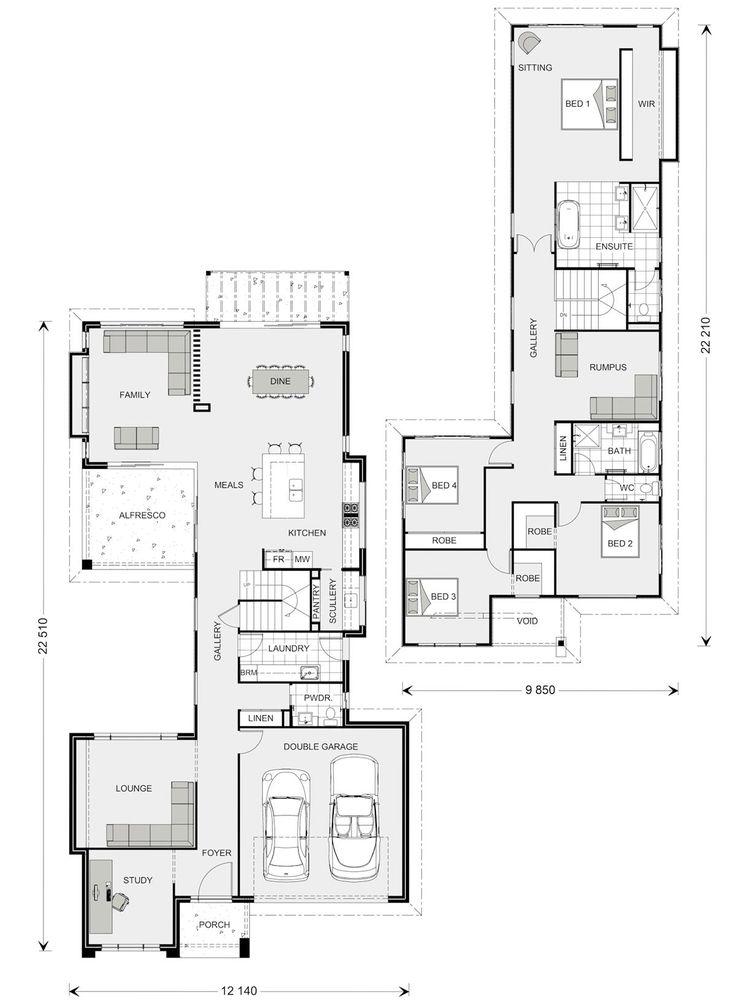 Galleria 352 - Element, Our Designs, Sunshine Coast South Builder, GJ Gardner Homes Sunshine Coast South