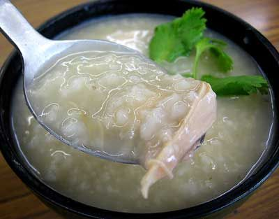 Turkey Jook (file this away for after next thanksgiving... or anytime i make a whole bird.)