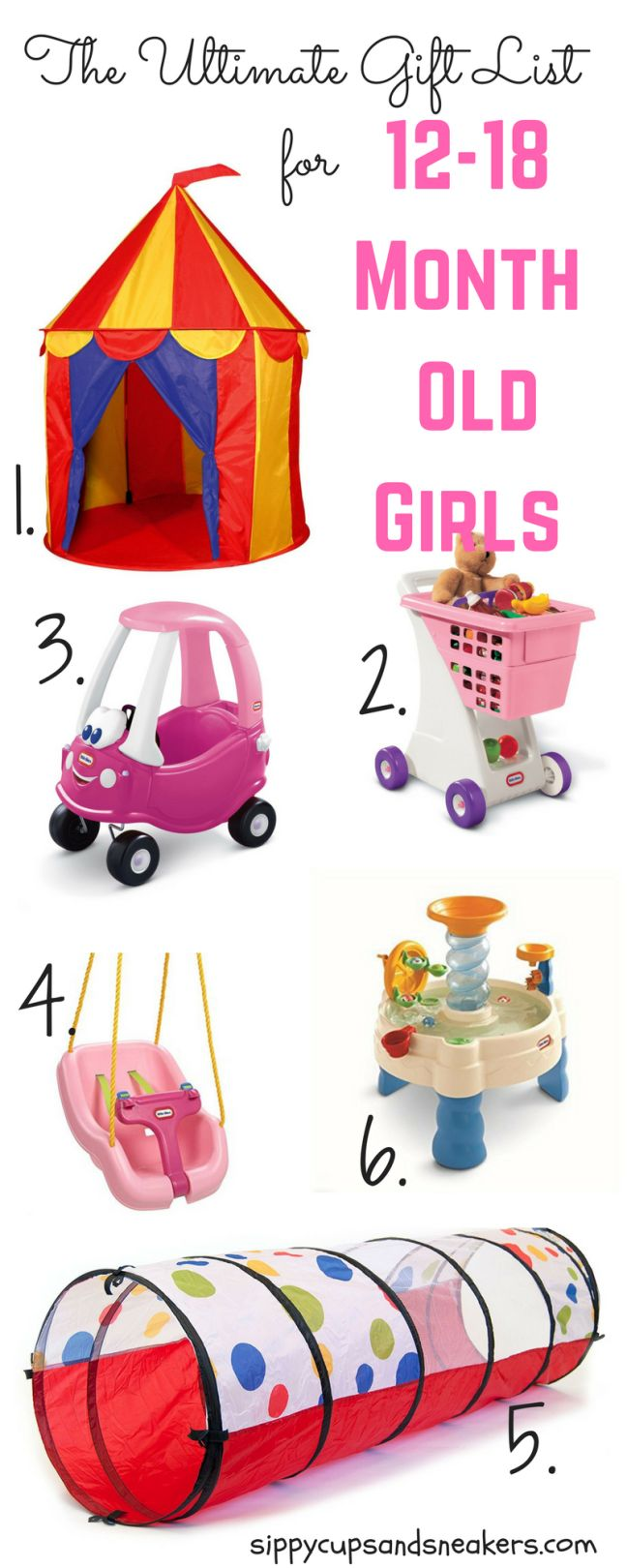 Toys For 18 Month 3 Year Old Toys : The ultimate gift list for month old girls