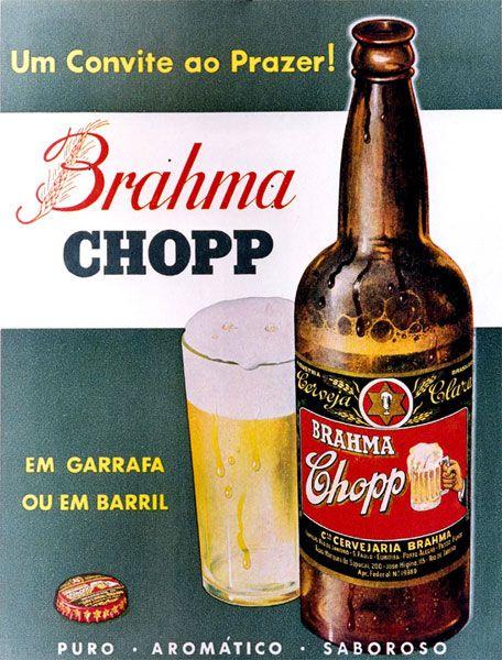 Em 1954, a empresa celebrou o seu quinquagésimo aniversário, tomando como base o ano de 1904, data em que a firma se tornou na Companhia Cervejaria Brahma, resultante da fusão entre a Cervejaria Brahma e a Cervejaria Teutônia.