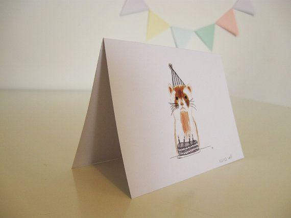 Don't Fret Birthday Card