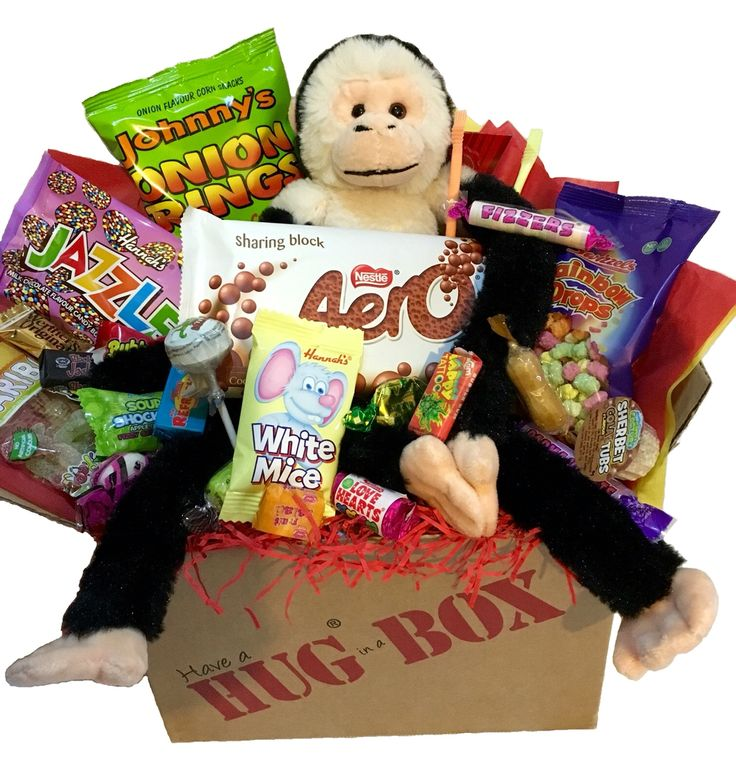 132 best hug box images on pinterest kerst at sign and birth day monkey hug box hugbox personalised negle Image collections