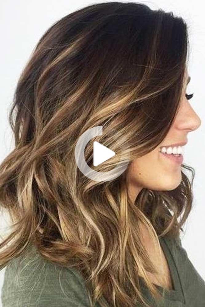Youtube In 2020 Cute Hairstyles For Medium Hair Medium Hair Styles Brunette Hair Color