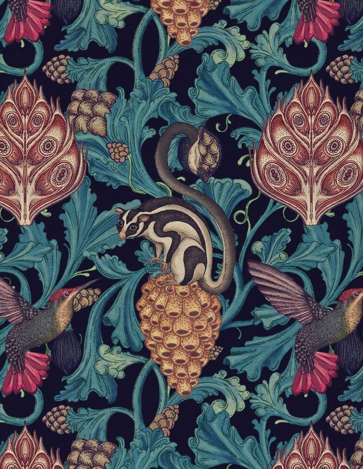 Katie Scott Wallpapers and Patterns : katie-scott.com